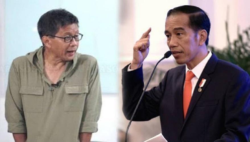 Jokowi Kaget Soal Tiket Pesawat dan Avtur, Ini Tanggapan Rocky Gerung