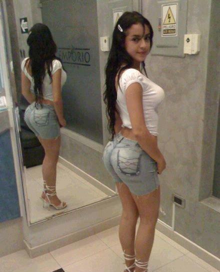 Teen latin booty