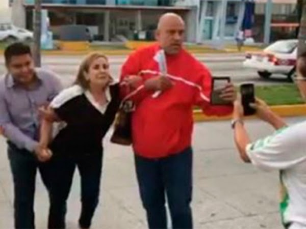 Detienen por error a doctora en Veracruz (VIDEO)
