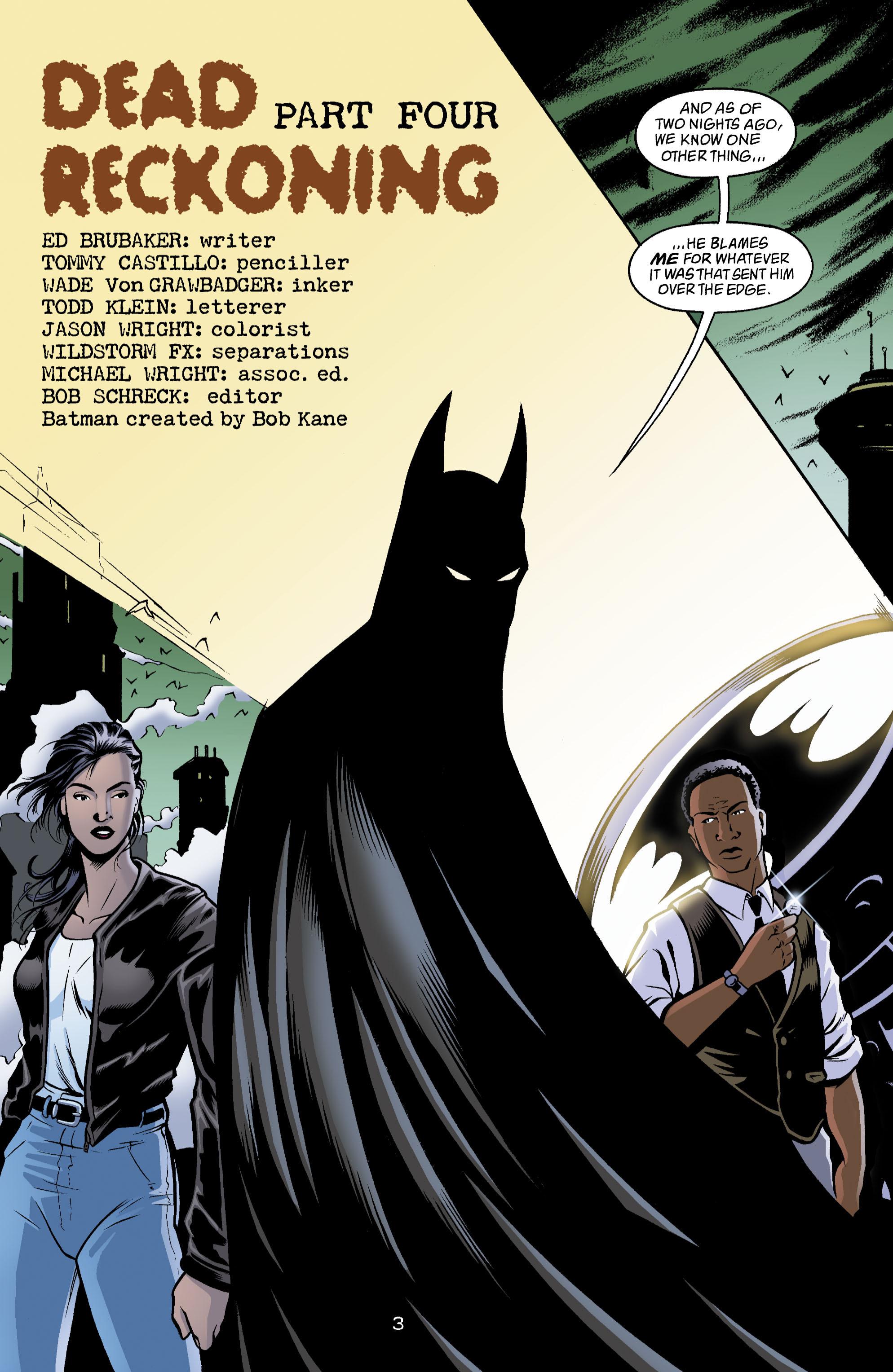 Detective Comics (1937) 780 Page 3