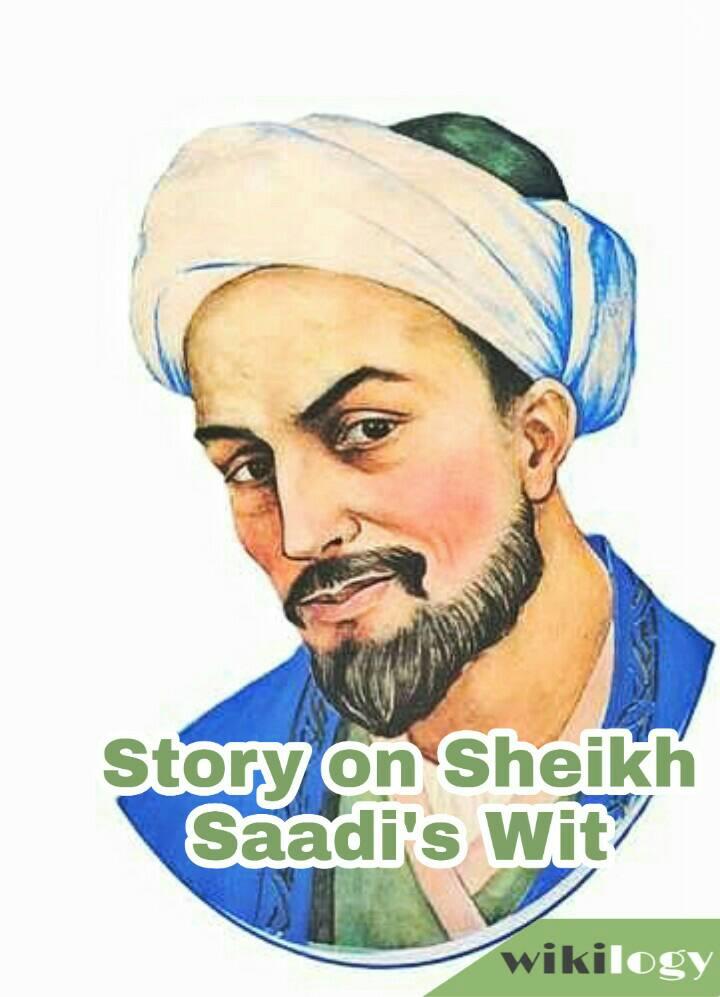 sheikh saadi story
