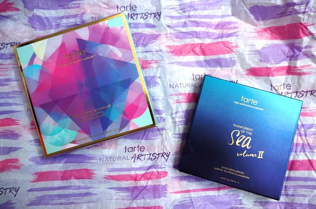 Tarte Eyeshadows Packaging