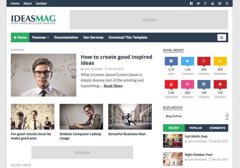 Ideas mag premium version blogger template free download free ideas mag premium version blogger template free download wajeb Gallery