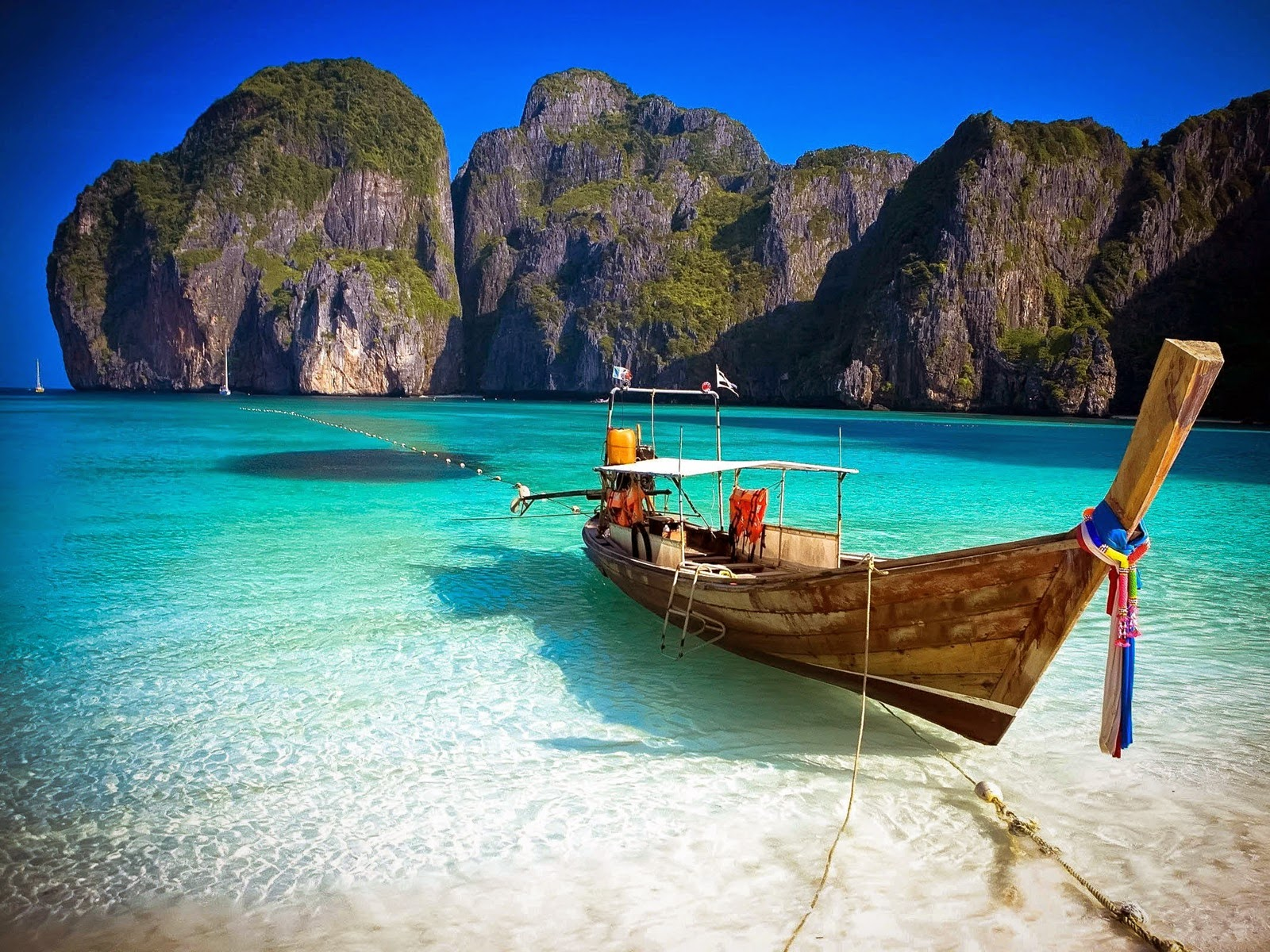 Phi Island Is One Of The Best Holiday Destinations In Thailand Where People Throng From All Over World Especially Summer Season