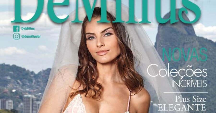 6f94e83ae DeMillus coleção romântica e sensual para o Mês das Noivas - Blog Prosa  Amiga
