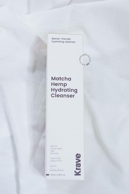 Review : KRAVE BEAUTY Matcha Hemp Hydrating Cleanser & Kale-Lalu-yAHA by Jessica Alicia