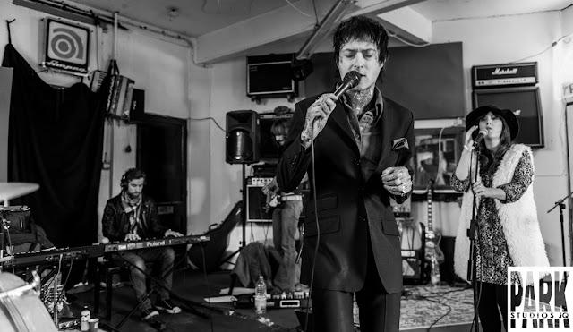 Brandy Row and the Coalition of Sound | Birmingham Recording Studio | Park Studios JQ | artist