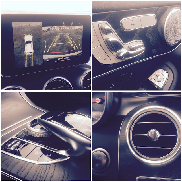 2016 Mercedes-Benz GLC300 interior collage