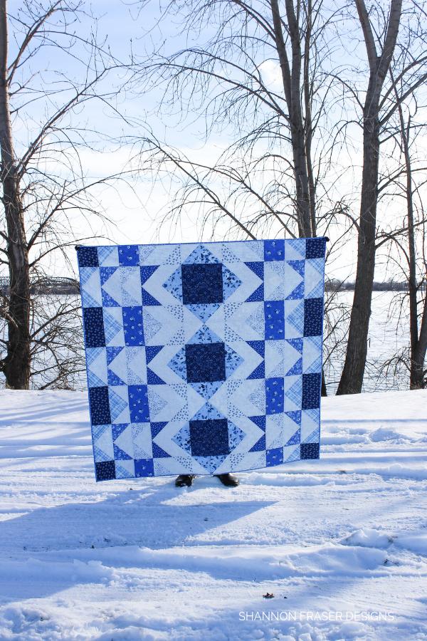 Bequest Modern Aztec Quilt | Shannon Fraser Designs
