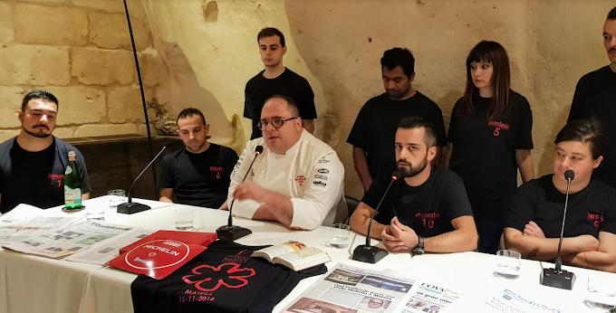 Matera, lo chef Lombardo festeggia la Michelin Star