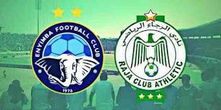 مشاهدة مباراة الرجاء وانييمبا بث مباشر بتاريخ 24-10-2018 كأس الكونفيدرالية الأفريقية