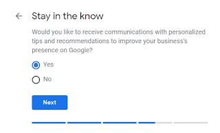 Pilih saja YES, Lalu klik Next.
