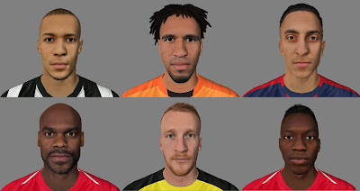 FIFA 16 Facepack 3 by Karron97