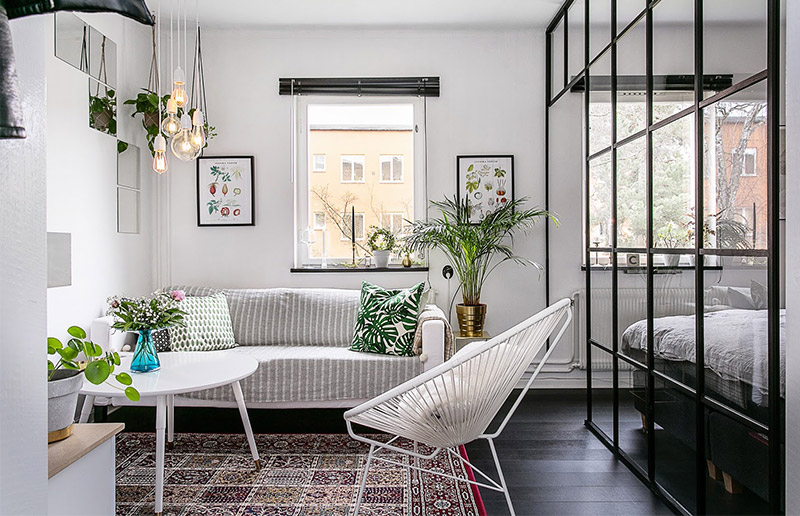 Como decorar pequenos espaços!