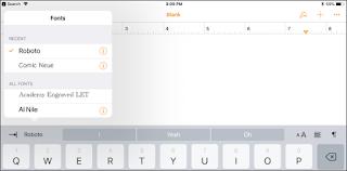 Pemasangan font di ios iphone