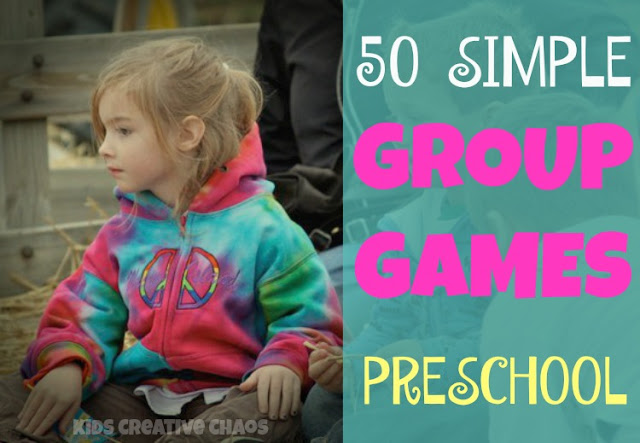 50 Simple Group Time Games for Preschoolers at Circle Time