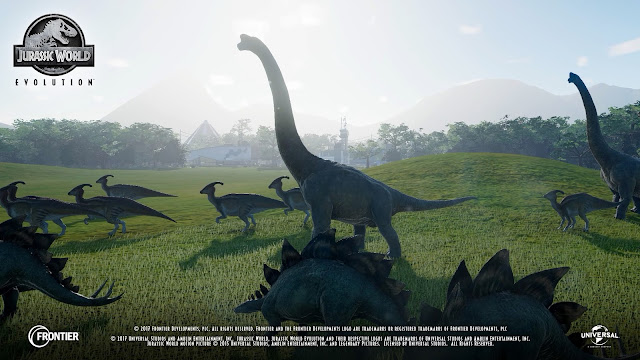 jurassic world evolution screen shots