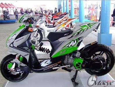 34 Foto Gambar Modifikasi Motor Yamaha Xeon GT 125 Eagle Eye