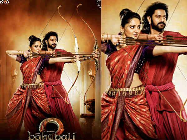 Prabhas and Anushka in Baahubali 2 Movie Poster: