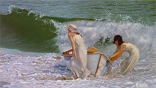 cuadros-oleo-chicas-playas