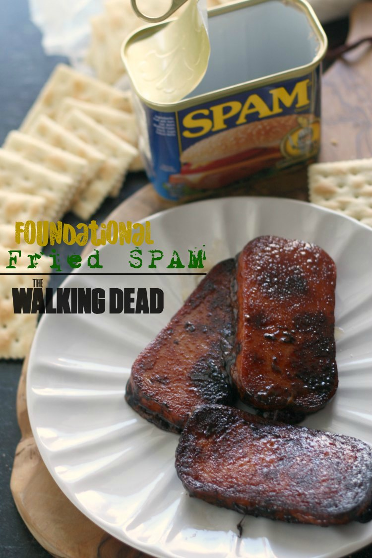 Foundational Fried SPAM | The Walking Dead (cookbook review + giveaway)