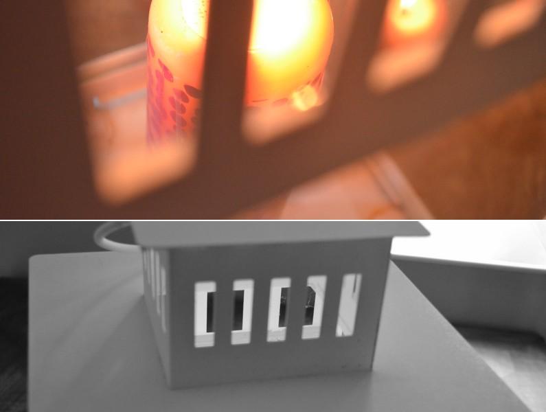 BORRBY Lanterne pour bougie IKEA