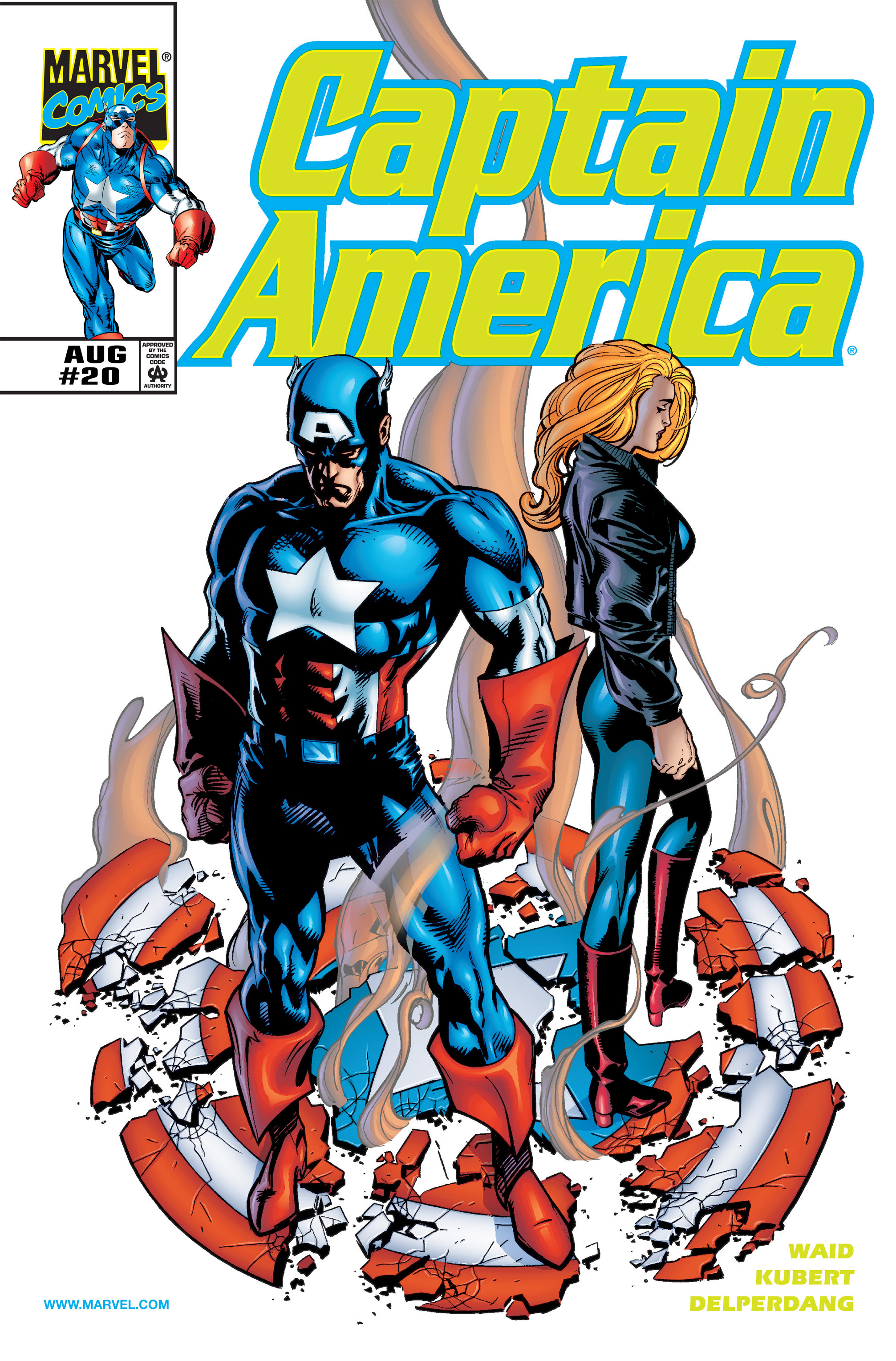 Captain America (1998) 20 Page 1