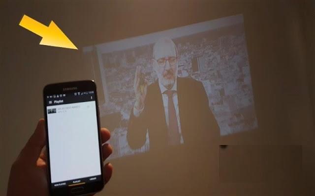 ڤیدیۆ.. رێگایهكی نوی بۆ نیشاندانی شاشهی مۆبایلهكهت لهسهر دیواری ژوورهكهت