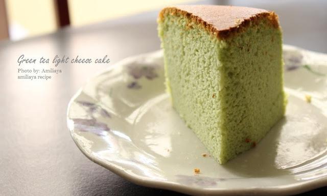 绿茶轻乳酪蛋糕