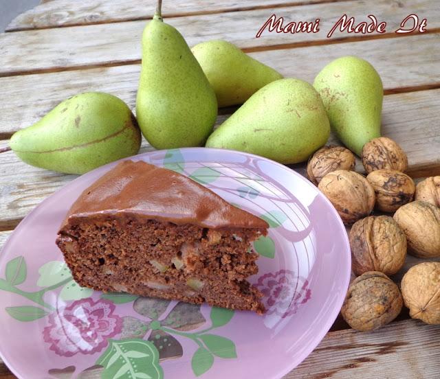 Pear-Walnut-Cake - Birne-Nuss-Kuchen