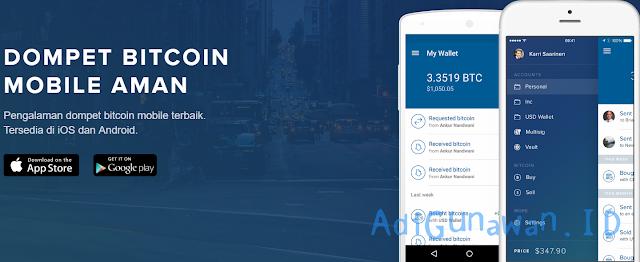 Aplikasi Trading di Coinbase Versi Android, iOS & Desktop