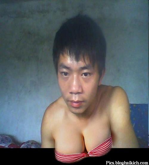 Thêm ngực cho Nam bằng photoshop