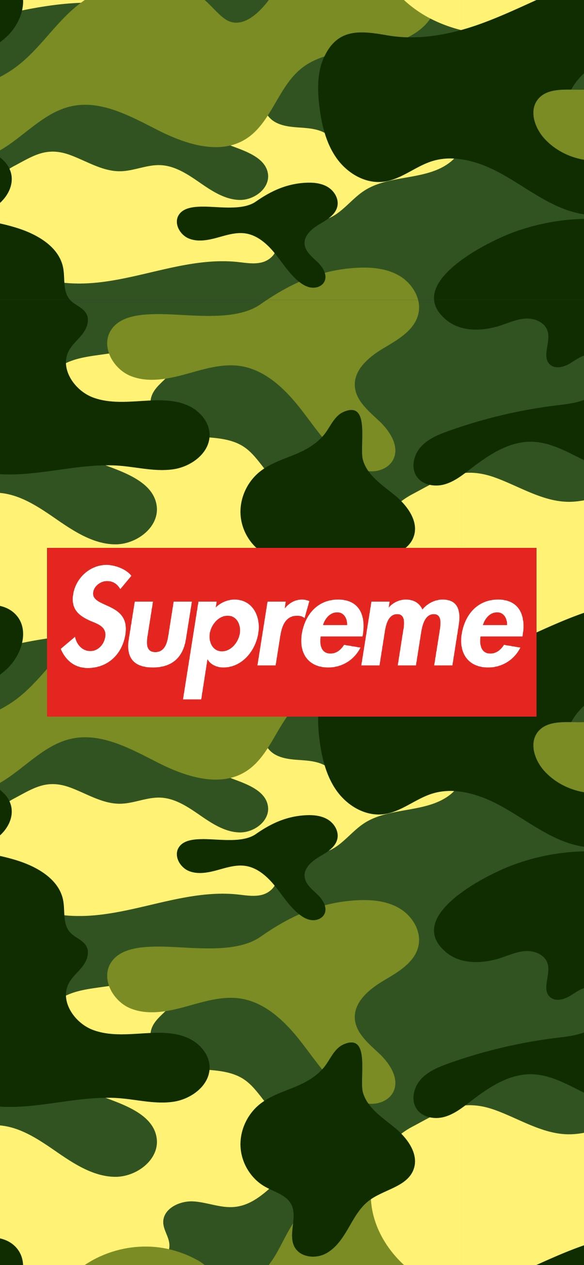 supreme camo camouflage wallpaper hd 1205 x 2609