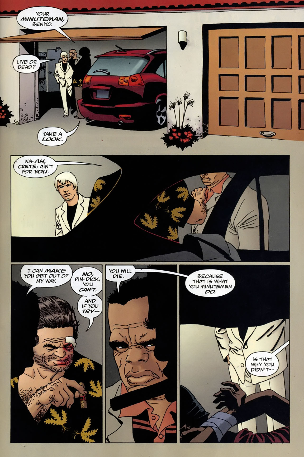 Read online 100 Bullets comic -  Issue #96 - 21