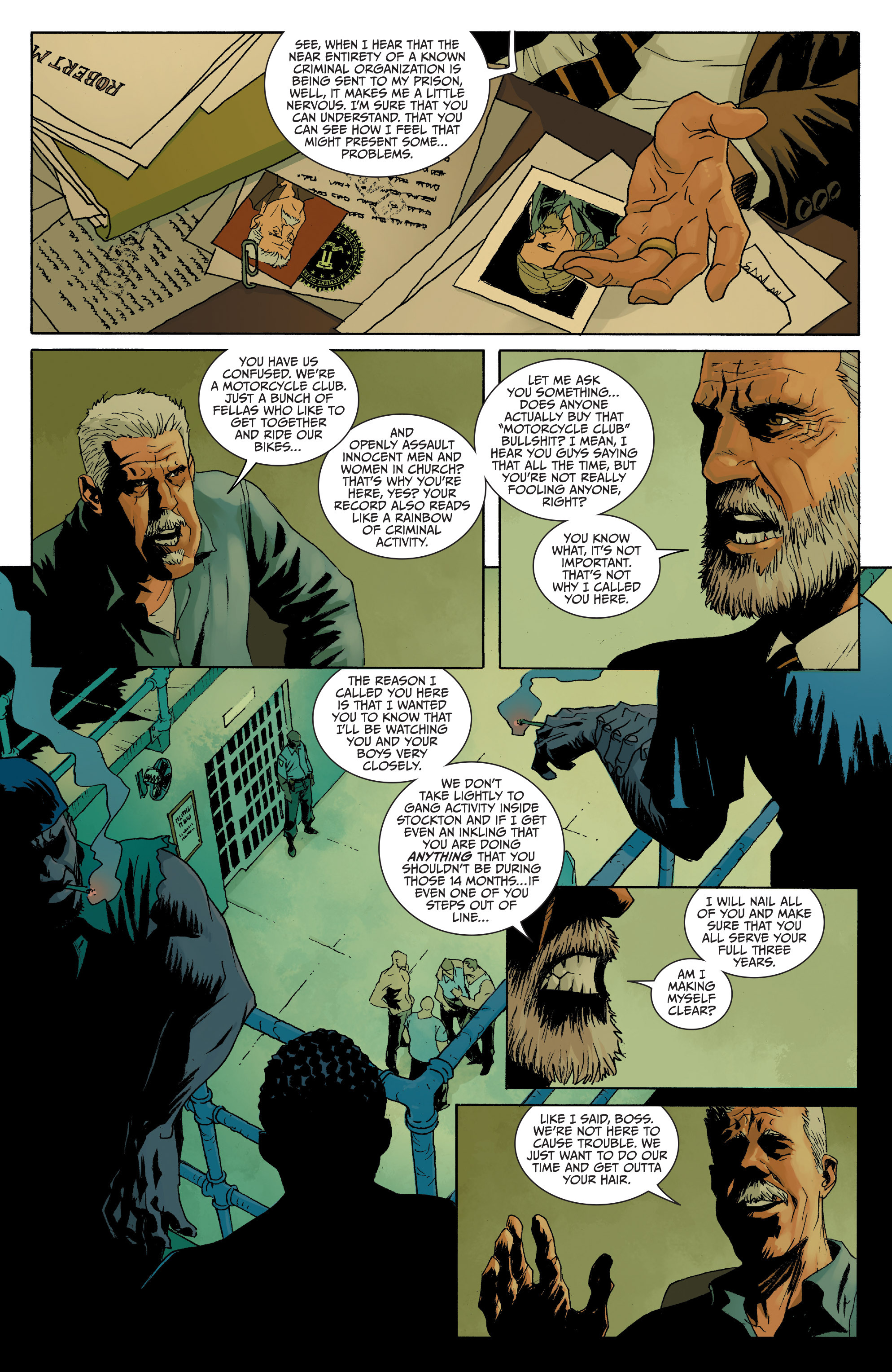 Read online Sons of Anarchy comic -  Issue #8 - 6