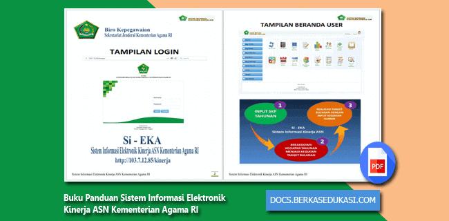 Buku Panduan Sistem Informasi Elektronik Kinerja ASN Kementerian Agama RI