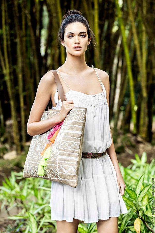 Moda primavera verano 2017 vestidos India Style. Moda mujer primavera verano 2017.