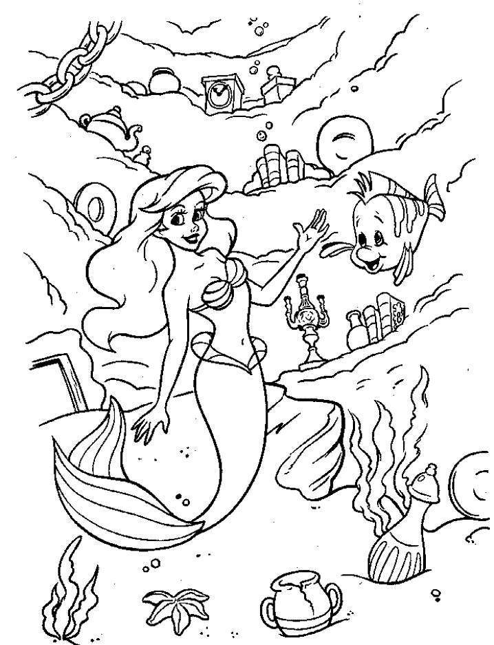 princess cartoon coloring pages - photo#5