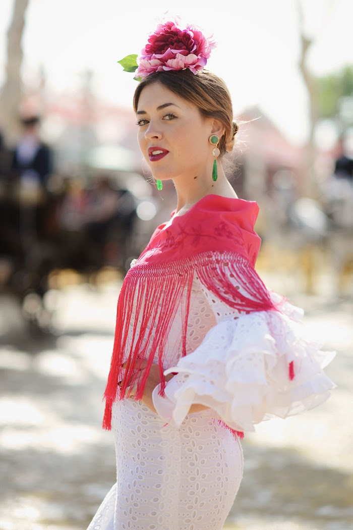 Flamenco dress Feria de abril
