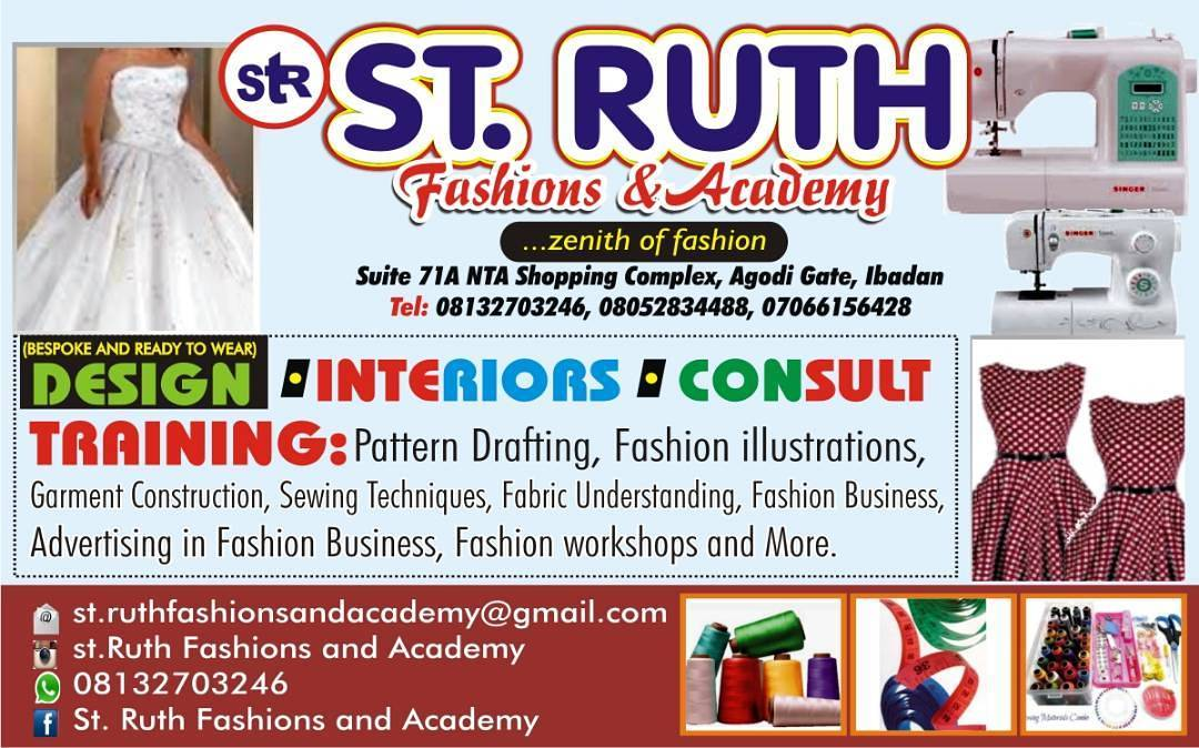St. Ruth Fashions and Academy