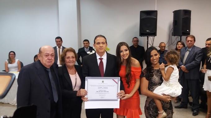 Prefeito eleito Fábio Gentil, Vice Paulinho Jr e vereadores são diplomados em Caxias