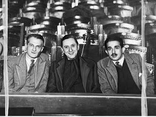 Marian Hemar, Fryderyk Jarossy i Julian Tuwim  - 1936