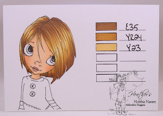 Copic Hair Tone