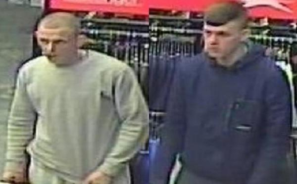CCTV images released after theft from city centre shop