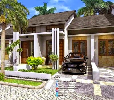 jasa desain teras rumah minimalis