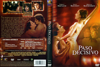 Carátula dvd: Paso decisivo (1977) (The Turning Point)