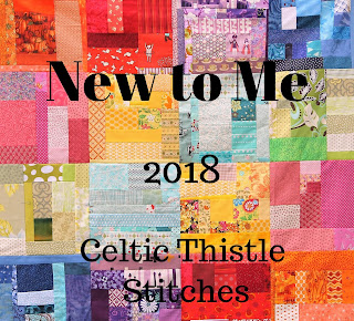 Celtic Thistle Stitches New to Me