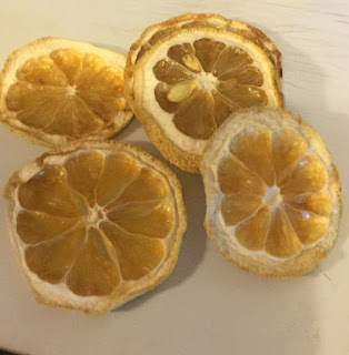 dehydrating lemons, how to dehydrate and use lemons, preserving lemons