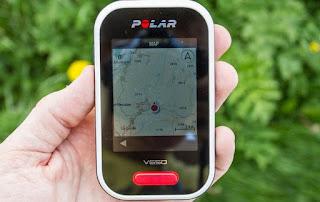 Polar V650 mapas