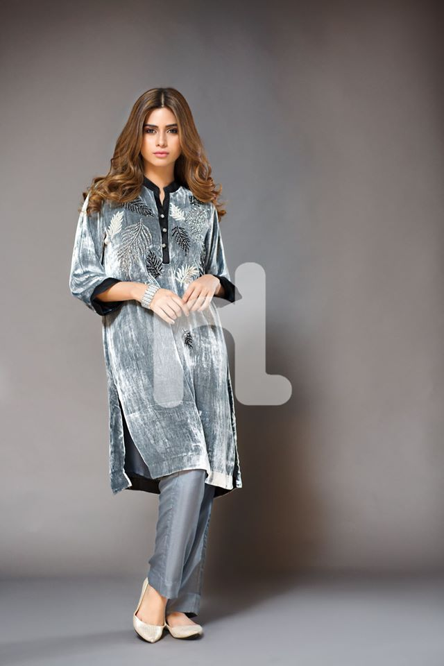 Nishat Stylish Winter Wear Dresses Collection For Women
